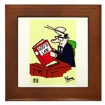 Sole Practitioner's Framed Tile