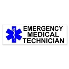 Emergency Medical Technician Bumper Sticker