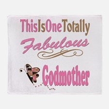 Totally Fabulous Godmother Throw Blanket