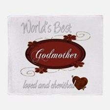 Cherished Godmother Throw Blanket