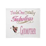 Fabulous Godmother Throw Blanket