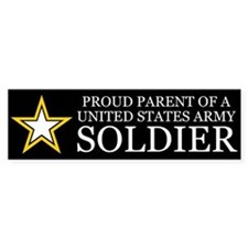 Proud Parent Army Car Sticker