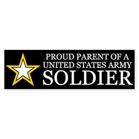 Proud Parent Army Sticker (Bumper)