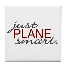 Just Plane Smart 2 Tile Coaster