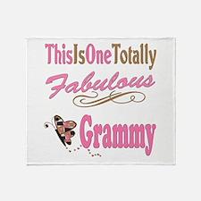 Totally Fabulous Grammy Throw Blanket