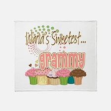 World's Sweetest Grammy Throw Blanket
