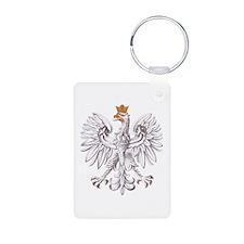 Polish White Eagle Keychains