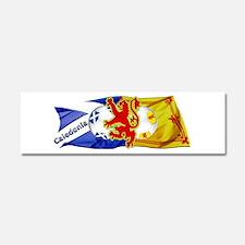 Scotland Football Fashion Car Magnet 10 x 3