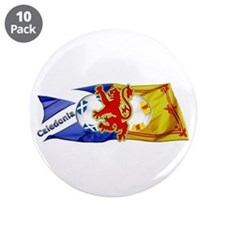 "Scotland Football Fashion 3.5"" Button (10 pack)"