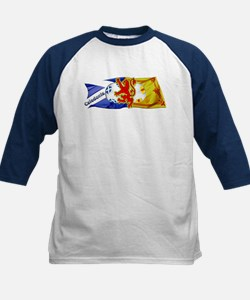 Scotland Football Fashion Kids Baseball Jersey
