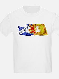 Scotland Football Fashion T-Shirt