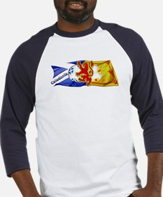Scotland Football Fashion Baseball Jersey