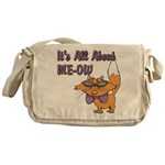 It's All About Me Cat Messenger Bag