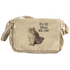 ME-OW Persian Cat Messenger Bag