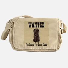 Affenpinscher Wanted Poster Messenger Bag