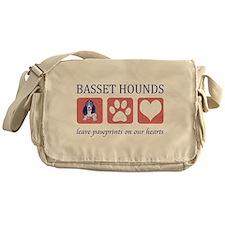 Basset Hound Lover Gifts Messenger Bag