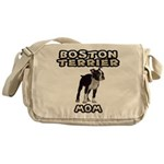 Boston Terrier Messenger Bag