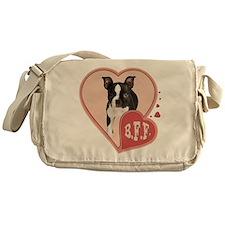 BFF Boston Terrier Messenger Bag