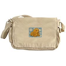 Holiday Cocker Spaniel Messenger Bag