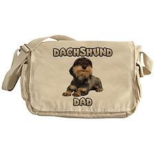 Wirehaired Dachshund Dad Messenger Bag