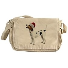 English Foxhound Christmas Messenger Bag