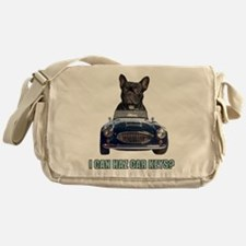 LOL French Bulldog Messenger Bag