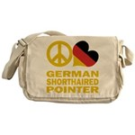 German Shorthaired Pointer Messenger Bag