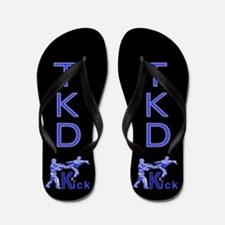Cute Tae kwon do Flip Flops