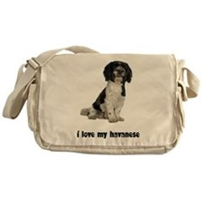Havanese Love Messenger Bag