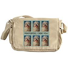Peekapoo ICU Messenger Bag