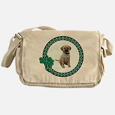 Irish Puggle Messenger Bag