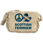 Scottish Terrier Messenger Bag