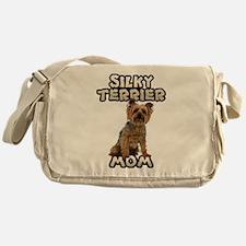 Silky Terrier Mom Messenger Bag