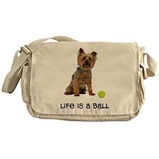 Silky Terrier Life Messenger Bag