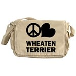 Wheaten Terrier Messenger Bag