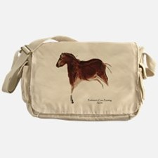 Horse Cave Painting Messenger Bag