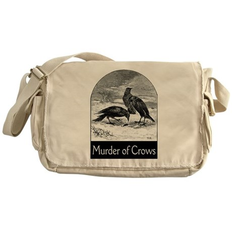 Murder of Crows Messenger Bag