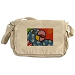 Tropical Parrot Messenger Bag