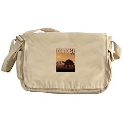 Graphic Tortoise Messenger Bag