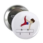 "Cute Gymnast 2.25"" Button (100 Pk)"