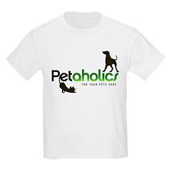 Petaholics Logo Kids Light T-Shirt