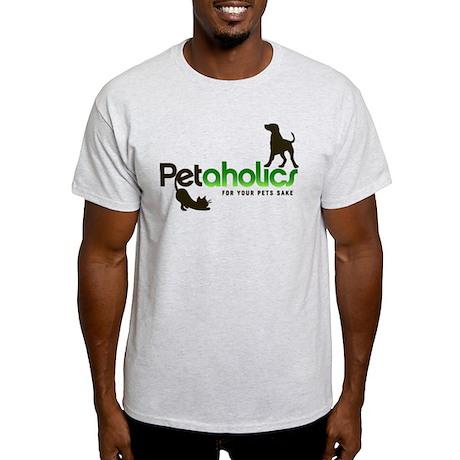 Petaholics Logo Light T-Shirt