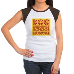 Dog Obedience School Musical Women's Cap Sleeve T-