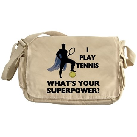 Tennis Superpower Messenger Bag