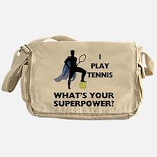 Tennis Superpower Messenger Bag