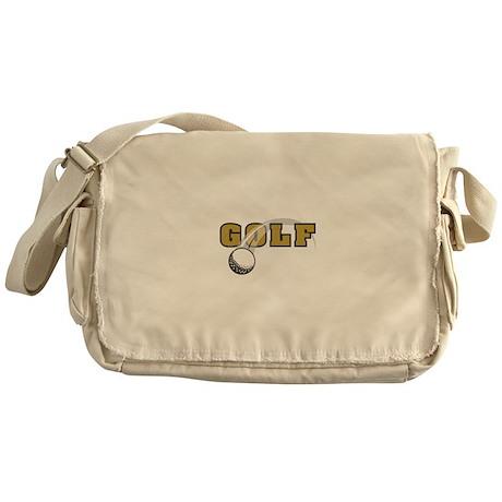 Golf Nuts Messenger Bag