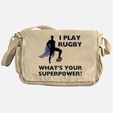 Rugby Superhero Messenger Bag