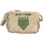Beer Frame Bowling Messenger Bag