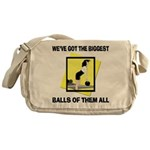 Biggest Balls Bowling Messenger Bag