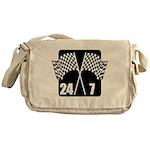 24/7 Racing Messenger Bag